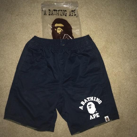e70baab640 Bape Shorts | Reversible | Poshmark